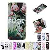 V-Ted Coque Apple iPhone 7 8 Rose Fuck Silicone Ultra Fine Mince Bumper Housse Etui...