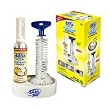 Sani 360 Garbage Disposal Cleaner - Lemon Scent, 10oz Bottle of Foam, Twin Pack - 16 to 20 Uses…