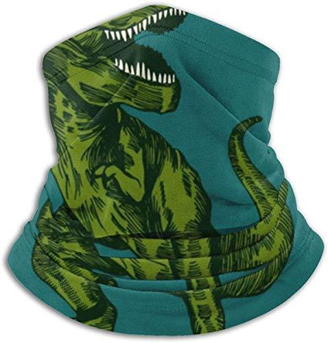 NA Dinosaur Surfer-Sonnenbrille, Unisex, Winter, Fleece, Halswärmer, Gamaschen, Haarband, kaltes Wetter, Gesichtsmaske, Thermo-Schal, Outdoor, UV-Schutz, Party-Abdeckung