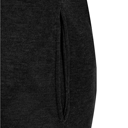 Women Sweater,Neartime Loose Pullover Long Sleeve Outfit Warm Sweatshirt (L, Black) Photo #4
