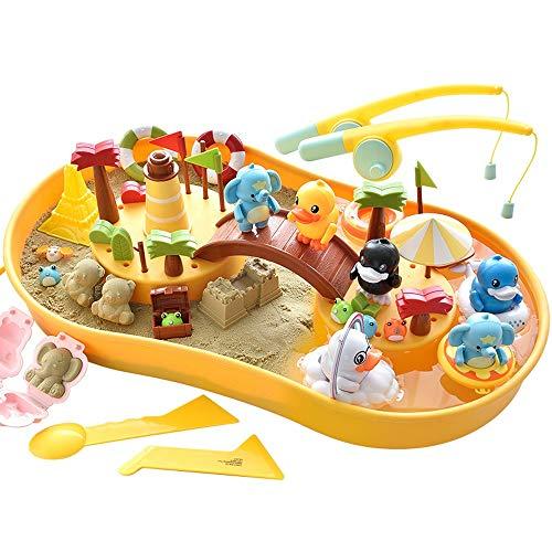 Lihgfw Kinder Magnetic Fishing Spielzeug-Set 1 Jahr alt Kinder Lern Intelligenz Gehirn Toy Die Beste Weihnachten Geburtstags-Geschenke