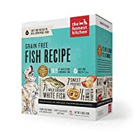 The Honest Kitchen Dehydrated Zeal Grain Free White Fish Pet Dog Food Meal 4lbs