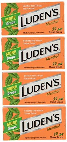 Ludens Original Menthol Throat Drops (20 count)