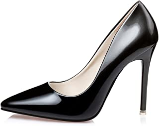 No.66 TOWN Women's Fashion Stiletto High Heel Pointed-Toe Party Pumps
