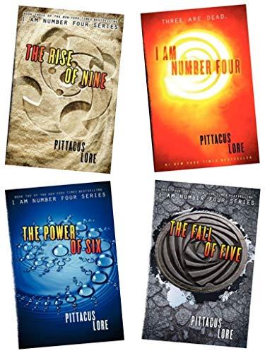 i am number four books set - 5