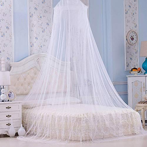 Stapelbed muggen net muggenwerende tent insecten geweigerd luifel bed gordijn bed tent Kleur: wit