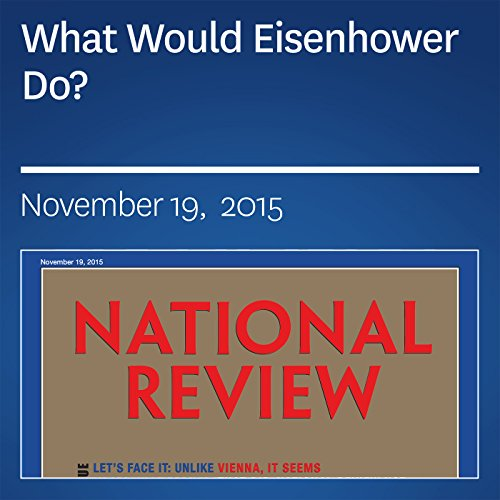 What Would Eisenhower Do? audiobook cover art
