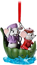 Bernard and Miss Bianca Sketchbook Ornament - The Rescuers - 40th Anniversary - 2017