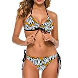 Donald Ducks Adult Two Piece Swimsuit with Tape for Women Pools Beach and Sandy Beach