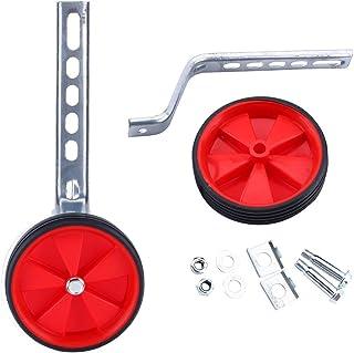 Yosoo ruedines para Bicicleta Infantil Seguridad ruedines para 12–20Pulgadas Bicicleta Infantil, Rojo