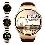 Bluetooth Smart Watch, evershop® 3,3cm IPS rund Touchscreen wasserabweisend Smartwatch...