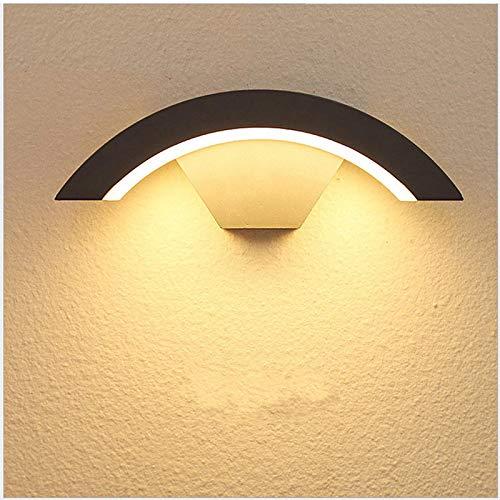 Lámpara De Pared Led Con Sensor De 18W, Lámpara De Pared Impermeable Para Exterior, Puerta Delantera, Jardín, Porche, Luz De Pared Moderna Para Interiores, Sensor De Movimiento-30W