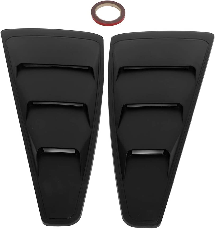 ECCPP Side Window Scoop Louvers Dedication Left Discount mail order Pair Right 1 Shades