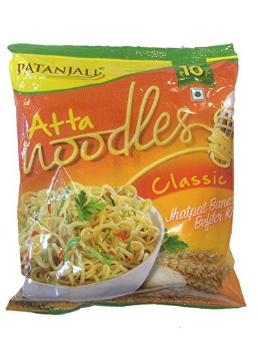 Patanjali Classic Atta(Wheat Flour) Noodles 60g X 12 (720gms)
