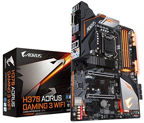 GIGABYTE H370 AORUS Gaming 3 WIFI (LGA1151/Intel/USB3.1 Gen 2 Type...