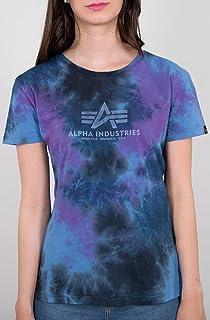 ALPHA INDUSTRIES Camiseta básica batik Wmn Galaxy Batik para mujer
