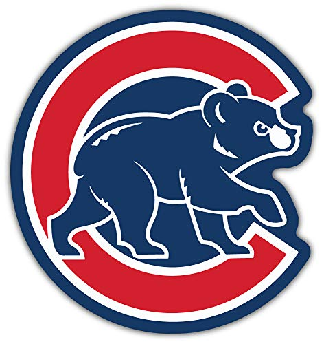 Chicago Cubs MLB Baseball Decal 12'' X 12''