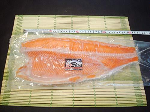 築地丸中 銀鮭(国産)半身1kg前後 銀鮭フィレ ぎんしゃけ ギンシャケ