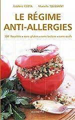 Le Régime anti-allergies de Frédéric Costa