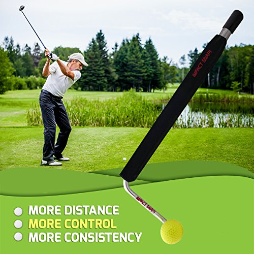 IMPACT SNAP Golf Swing Trainer and Practice Training Aid