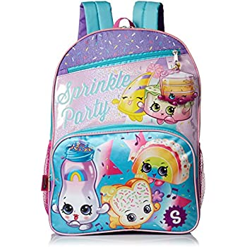 Shopkins Girls Sprinkle Party Backpack, blue | Shopkin.Toys - Image 1