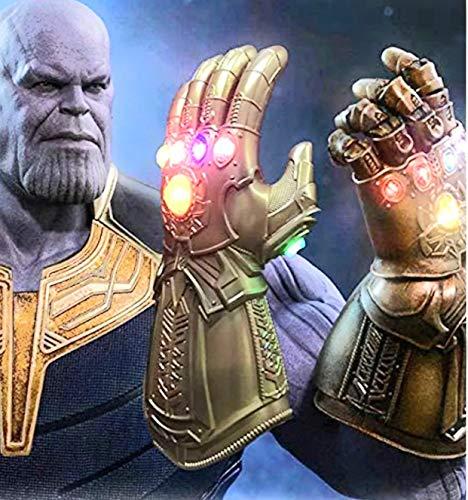 Thanos Gauntlet 6 LED Infinity Stones Endgame 2019 Thanos Arm