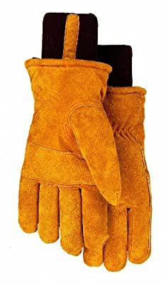 Thermolite Lined Suede Cowhide Leather Work Gloves