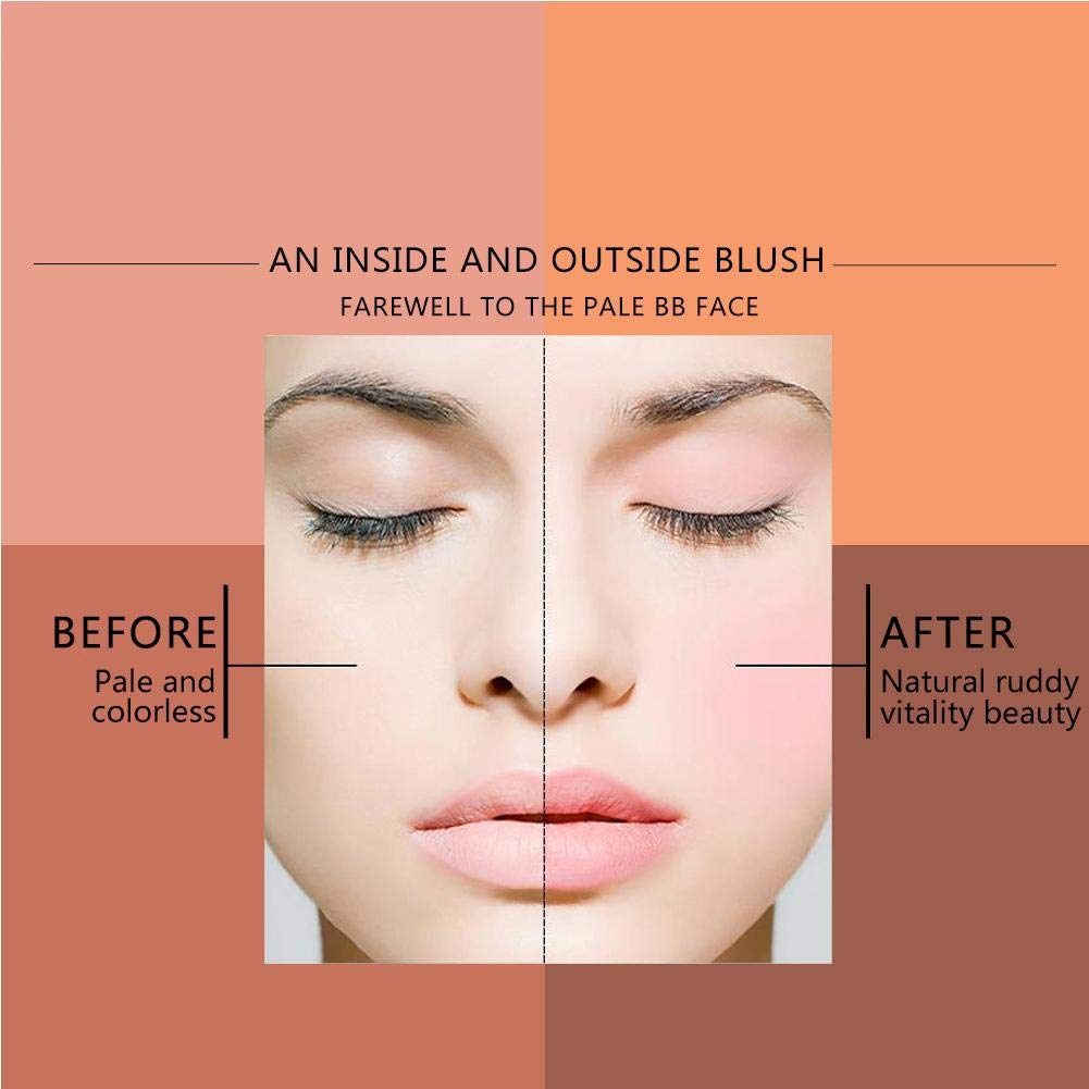 Face sale Blush Powder Convenient Now free shipping Cosmetic Daily Hom Blusher for