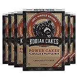 Kodiak Cakes Pancake Power Cakes, Flapjack & Waffle Mix, Chocolate Chip, 18 Ounce (Pack of 6)