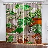 Taille:150x166cm (largeur x hauteur) Matériau de sécurité : ces rideaux occultants sont en polyester. Utilisation de la technologie 3D haute définition avancée pour l'impression, respectueuse de l'environnement, saine et rapide en couleur Les rideaux...