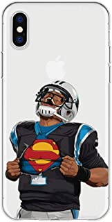 Bap Store Football Silicone Protective Transparent Thin Case Compatible with iPhone Xs MAX (10)