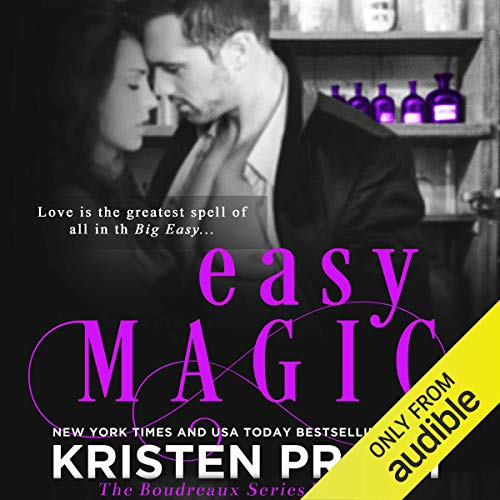 Easy Magic audiobook cover art