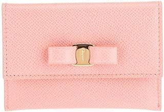 Luxury Fashion | Salvatore Ferragamo Womens 22D155 Pink Card Holder |