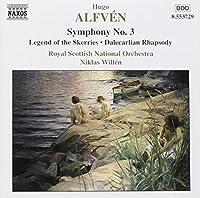 Hugo Alfven: Symphony No. 3 by ALFVEN (1999-06-22)
