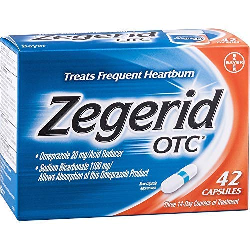 Zegerid OTC Acid Reducer Capsules-42ct