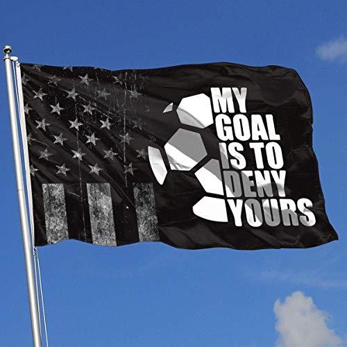 AOTADer Banderas al Aire Libre Bandera de EE. UU. Bandera de fútbol para fanático de los Deportes Fútbol Baloncesto Béisbol Hockey