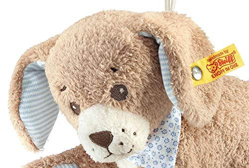 Steiff 239700 – Gute Nacht Hund Spieluhr, 22 cm, blau - 4