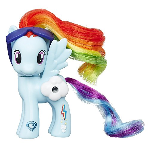 HASBRO My Little Pony Magic View Ponies Rainbow Dash B5361 B7267