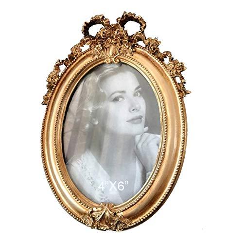 whxscsm Marco de fotos vintage, marco de fotos antiguo, pant