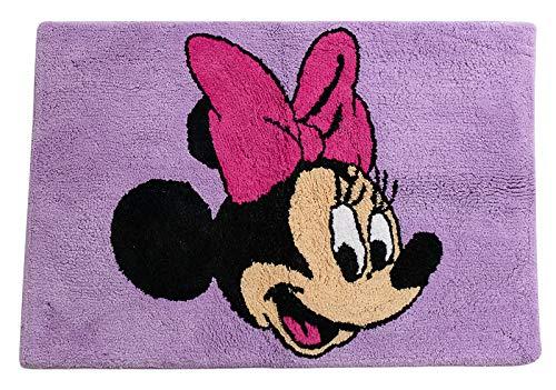 Jay Franco Disney Minnie Mouse Unicorn Tufted Cotton Bath Rug, Kids Bath (Offical Disney Product) ✅