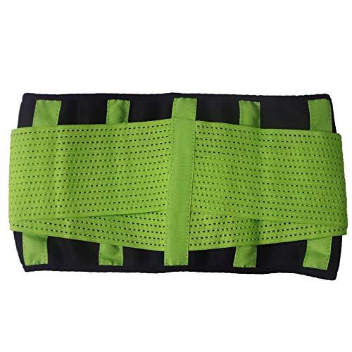 Fiunkes Taille Trainer Gürtel für Frauen-Abnehmen Body Shaper Belt Control Shapewear-Sport Gürtel Gürtel unter Büste Korsett,Grün,3XL