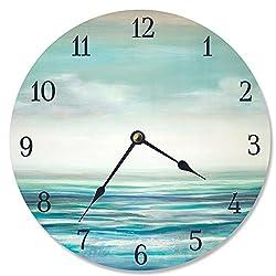 Stupell Industries Serene Waters Vanity Clock, Multi-Color