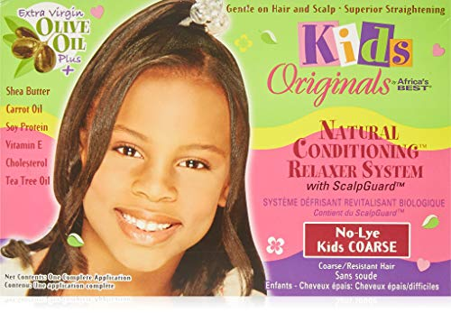 Africa's Best KIT KIDS ORGANICS CONDITIONING RELAXER SYSTEM 1 APPLICATION