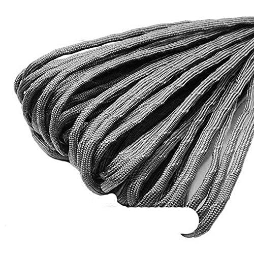 WEDSA Cuerda de paracaídas Reflectante de 100 pies, cordón 550, cordón de 7 núcleos, Pulsera de Supervivencia DIY, Accesorios para tendedero Dia.4mm-C9