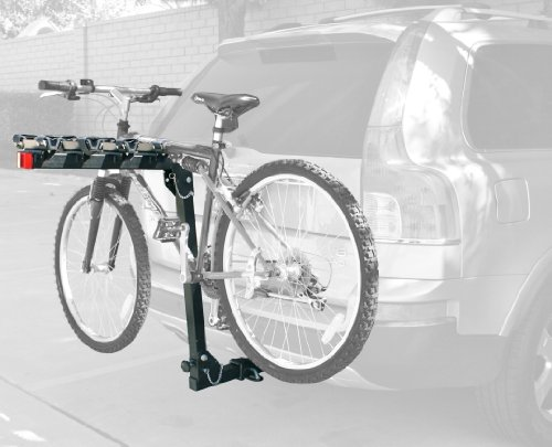MaxxHaul (70210) 4-Bike Deluxe Hitch Mount Rack , Black