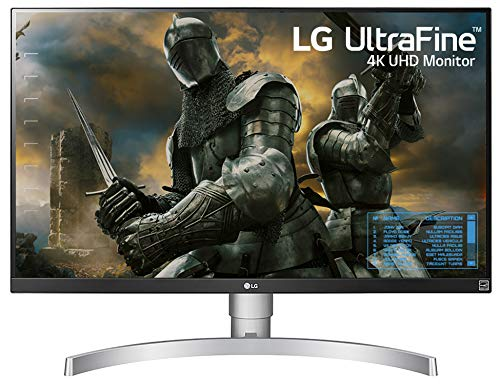 LG 27UK650-W 27 Inch 4K UHD IPS LED Monitor...