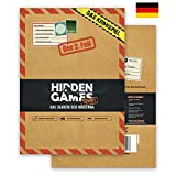 Hidden Games - Juego de Escape Room, tema policiaco, escena del crimen, Caso 2, «Das Diadem der Madonna»