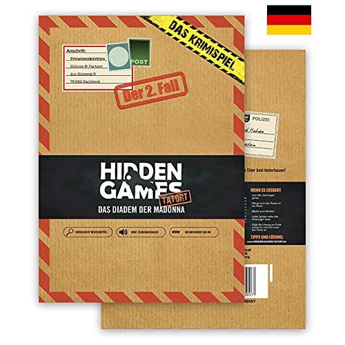 Hidden Games Tatort Krimispiel Fall 2 - Das Diadem der Madonna - Escape Room Spiel (Deutsche Edition)