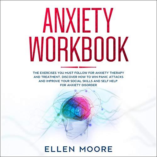 Anxiety Workbook audiobook cover art