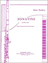 Dutilleux: Sonatine - Flute